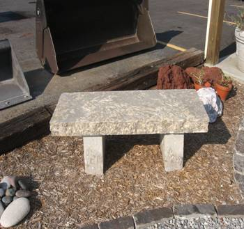 Natural Stone Bench Middle Tn Nashville