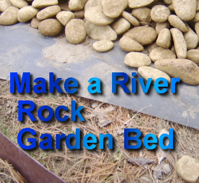 Nashville River Rock Garden Bed