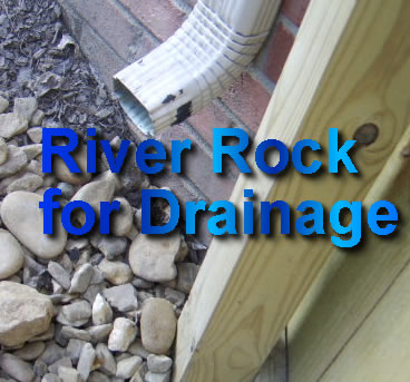 Nashville River Rock for Drainage