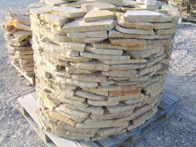 nashville natural stone and rock yards  pallette of stone