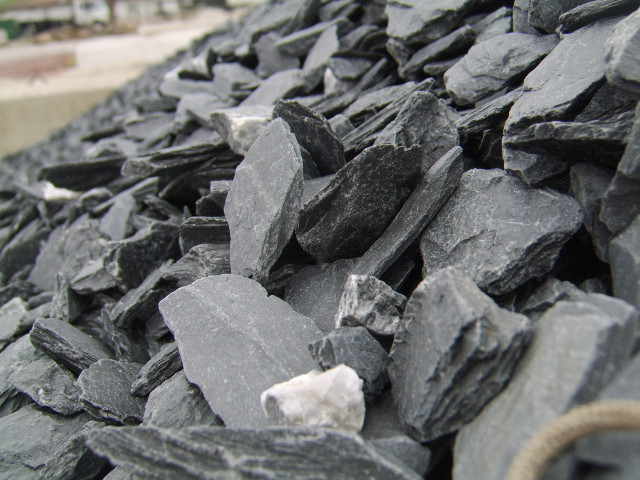 slate type crushed stone