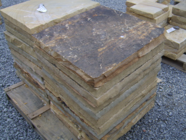 Flagstone on a pallette