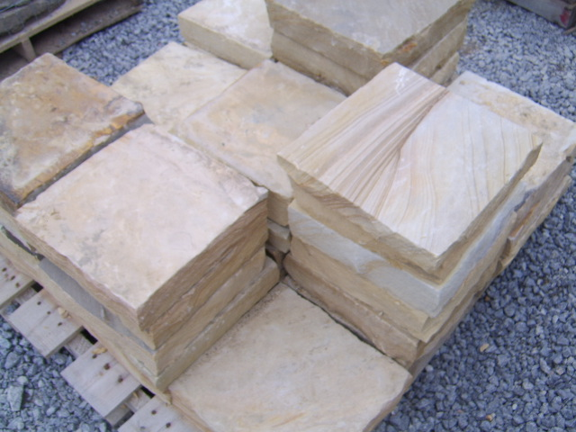 Smaller pieces of flagstone