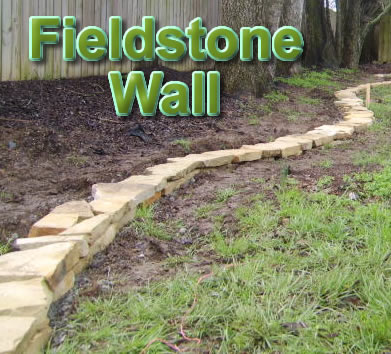 How to build a Nashville Fieldstone Wall